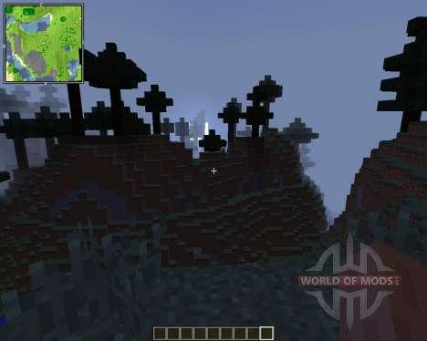 Xaeros Minimap [1.8] para Minecraft