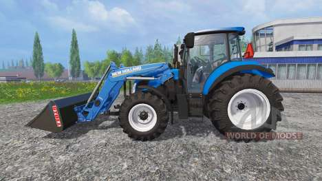 New Holland T5.115 FrontLoader para Farming Simulator 2015