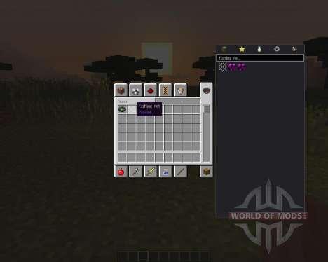 Fishing Net para Minecraft