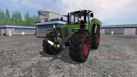 Fendt Favorit 824 Turboshift Full para Farming Simulator 2015