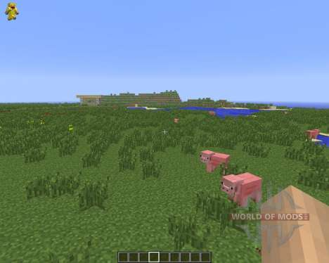 Character On GUI [1.6.4] para Minecraft
