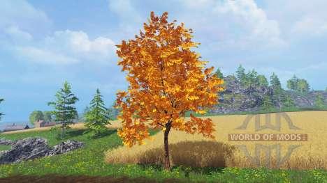 Árboles en otoño para Farming Simulator 2015