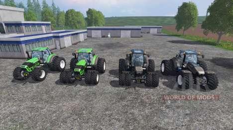 Deutz-Fahr Agrotron 7250 Dynamic8 v1.3 [pack] para Farming Simulator 2015