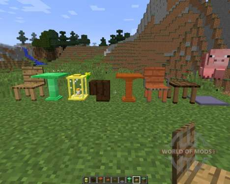 Decoration Mega Pack [1.8] para Minecraft