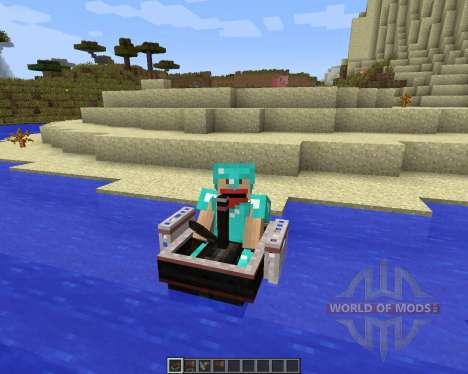 SteamBoat [1.7.2] para Minecraft