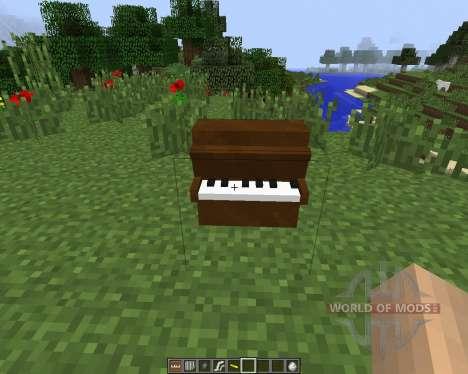 MusicCraft [1.7.2] para Minecraft