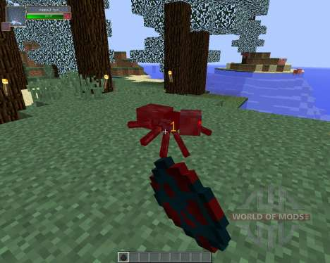 Damage Indicators [1.8] para Minecraft