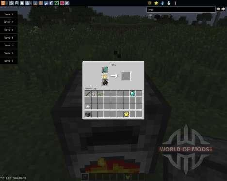 Armor Smelter [1.7.2] para Minecraft