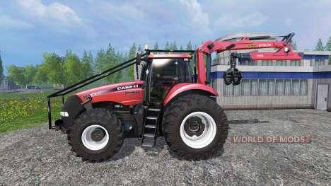 Case IH Magnum CVX 380 FL Forest v3.2 para Farming Simulator 2015