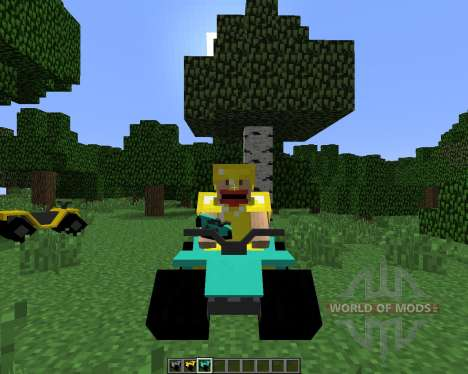 All-terrain Vehicle (ATV) [1.6.4] para Minecraft