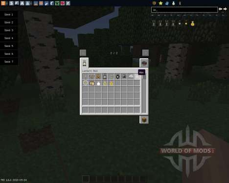 Lanterns and Flashlights [1.6.4] para Minecraft