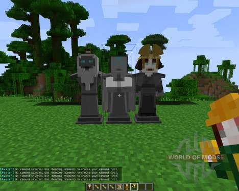 Avatar: The Last Blockbender [1.7.2] para Minecraft