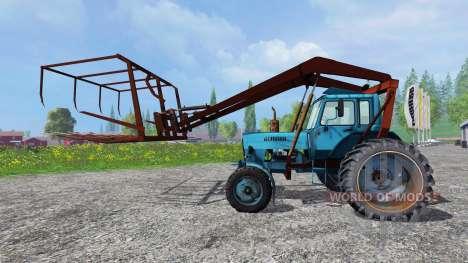 MTZ-80 Cargador para Farming Simulator 2015