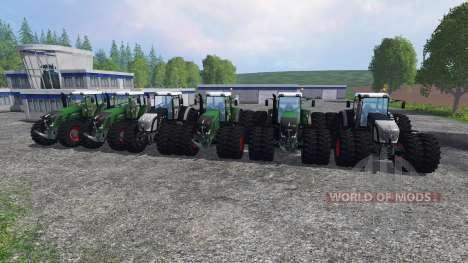 Fendt 936 Vario v1.3 para Farming Simulator 2015