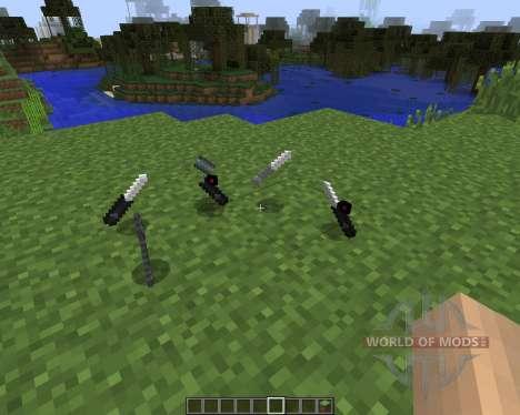 Call of Duty Knives [1.7.2] para Minecraft