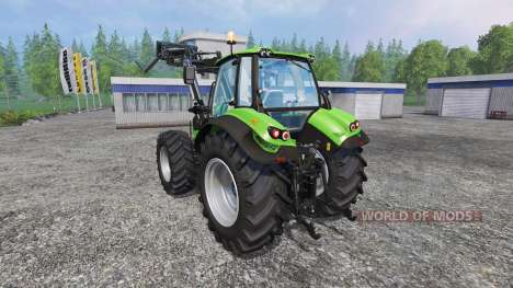 Deutz-Fahr Agrotron 7250 FL v3.0 para Farming Simulator 2015