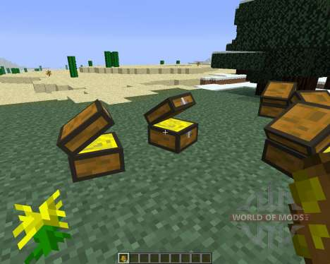 Treasure Chest [1.6.4] para Minecraft