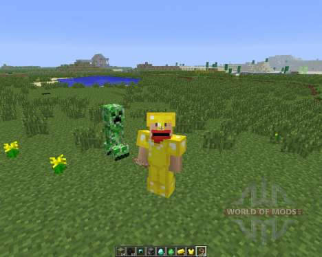 Tameable (Pet) Creepers [1.6.4] para Minecraft