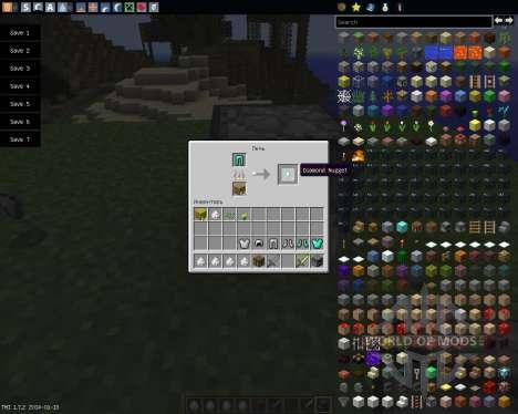 Recycle Items Plus [1.7.2] para Minecraft