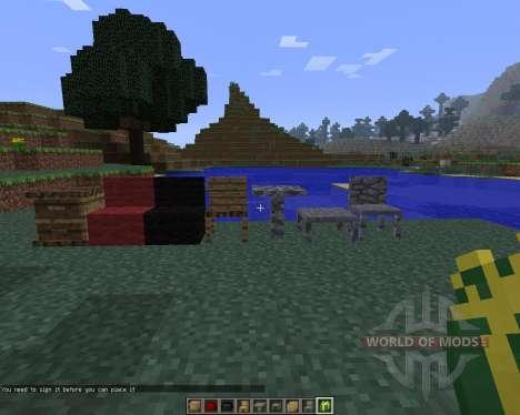 MrCrayfish Furniture [1.6.4] para Minecraft