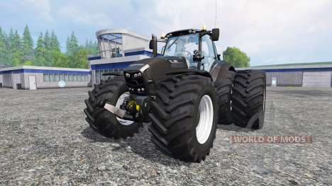 Deutz-Fahr Agrotron 7250 wdtrw v1.3 blackedition para Farming Simulator 2015
