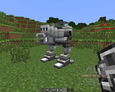 Magitek Mechs [1.6.4] para Minecraft