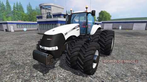 Case IH Magnum CVX 320 Dynamic8 white para Farming Simulator 2015