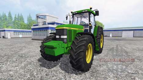 John Deere 7810 FW real turbine sound v1.1 para Farming Simulator 2015
