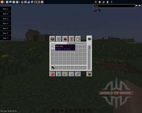 FireGun [1.6.4] para Minecraft