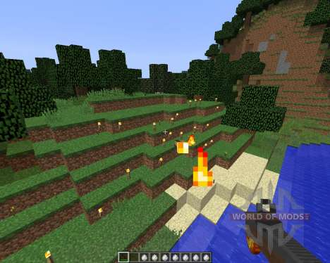 Torched [1.8] para Minecraft
