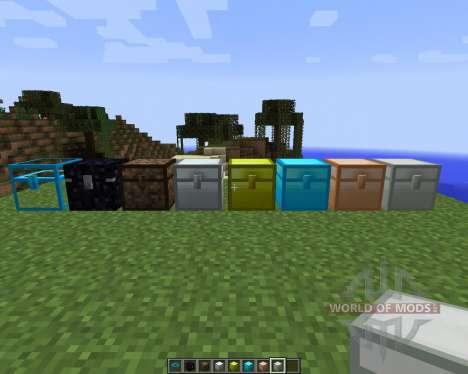 Iron Chests [1.7.2] para Minecraft