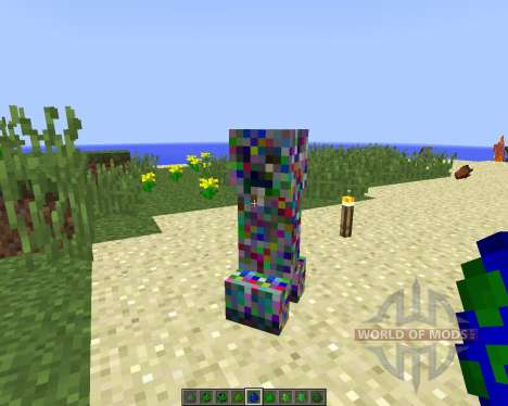 Elemental Creepers 2 [1.8] para Minecraft