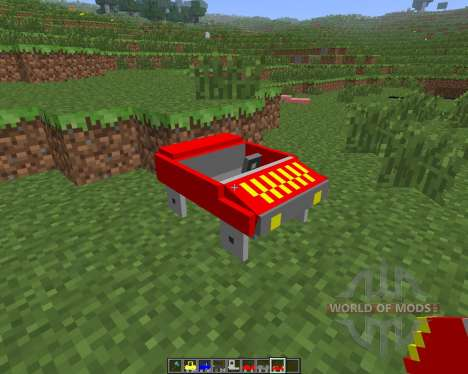 Cars and Drives [1.6.4] para Minecraft