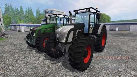 Fendt 936 Vario Forest Edition v1.2 para Farming Simulator 2015