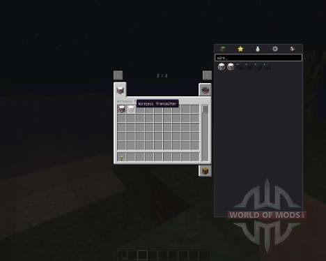 Wireless Redstone [1.8] para Minecraft
