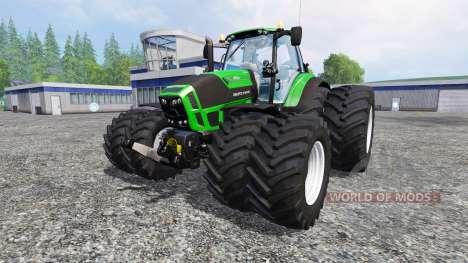 Deutz-Fahr Agrotron 7250 texture fix para Farming Simulator 2015
