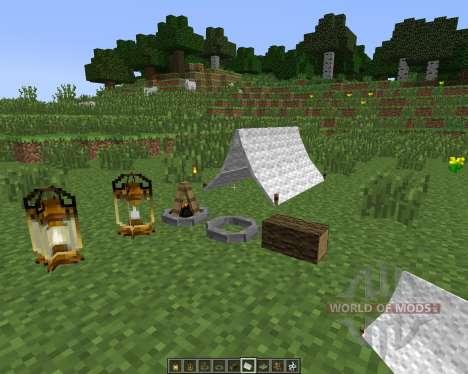 The Camping [1.7.10] para Minecraft