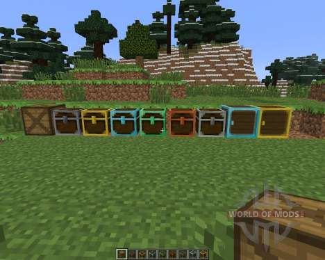 Better Storage [1.6.4] para Minecraft