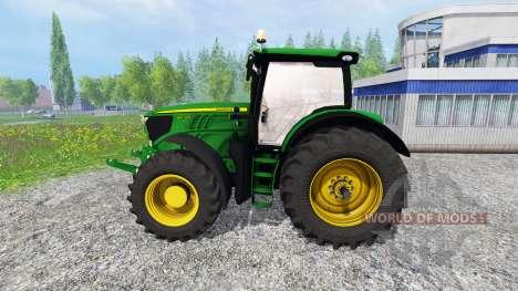 John Deere 6210R para Farming Simulator 2015
