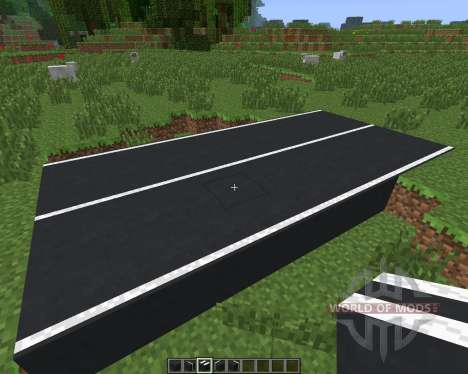 Asphalt [1.6.4] para Minecraft