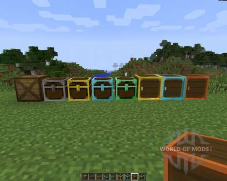 Better Storage [1.7.2] para Minecraft