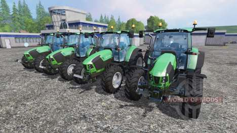 Deutz-Fahr 5110 TTV and 5130 TTV para Farming Simulator 2015