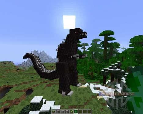 Godzilla [1.6.4] para Minecraft
