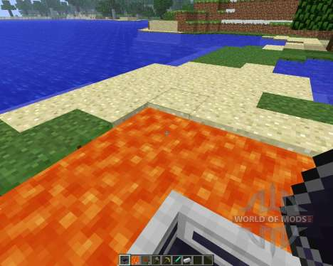LavaBoat [1.5.2] para Minecraft
