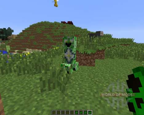 Creeper Species [1.6.4] para Minecraft