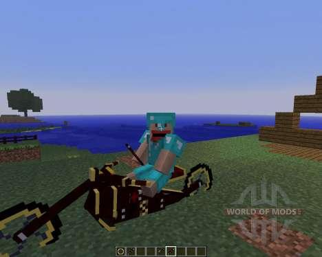 Steam Bikes [1.5.2] para Minecraft