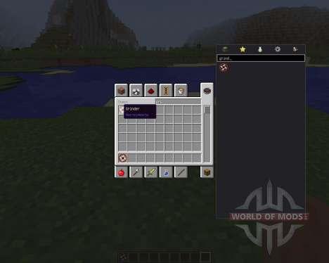 Attachable Grinder [1.8] para Minecraft