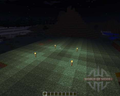 Dynamic Lights [1.6.4] para Minecraft