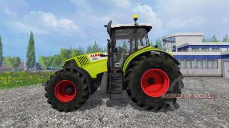 CLAAS Axion 850 v2.0 [washable] para Farming Simulator 2015
