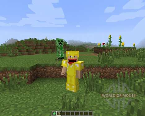 Tameable (Pet) Creepers [1.7.2] para Minecraft